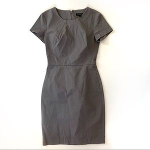 Banana Republic Sheath Dress Size 0 Gray